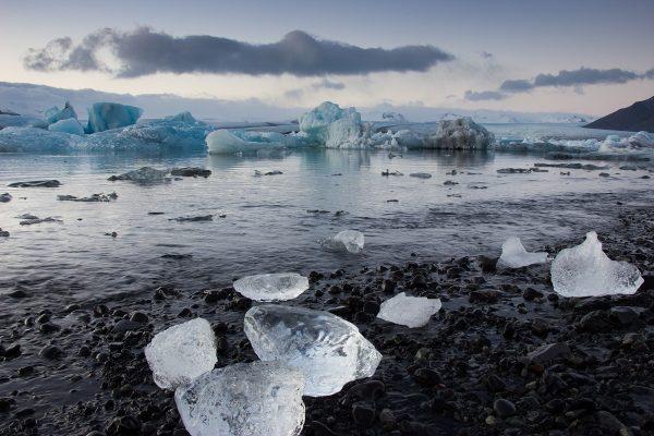 Le Glacier Lagoon de Jokulsarlon en Islande
