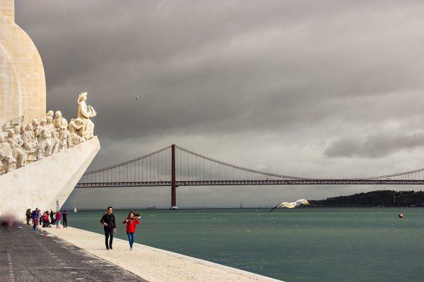 """Le Padrão dos Descobrimentos ou """"monument aux découvertes"""" de Lisbonne"""