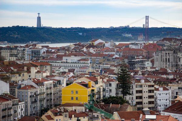 Panorama sur Lisbonne