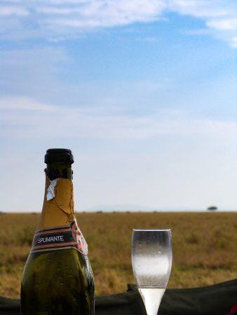 Petit déjeuner dans la savane