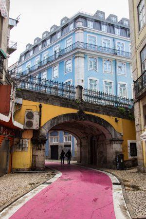 La Pink Street de Lisbonne