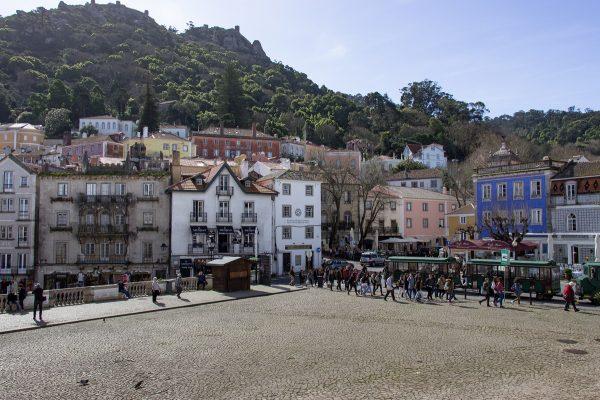 La place de Sintra