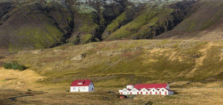 Un paysage du sud de l'Islande, près de la route N1, découvert en roadtrip.