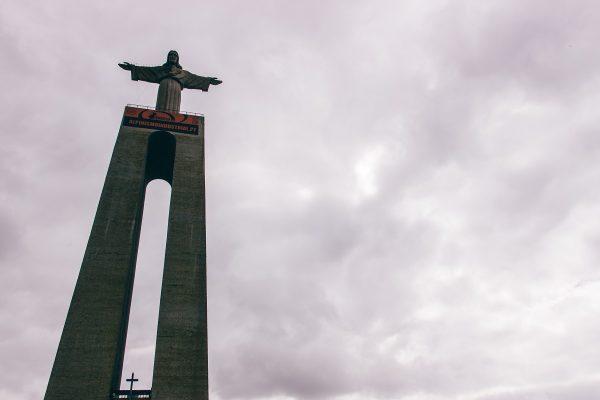 La statue du Cristo Rei à Lisbonne
