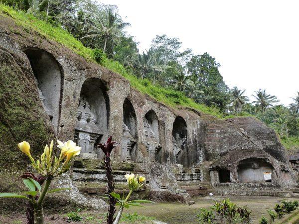 Le temple de Gunung Kawi à Bali