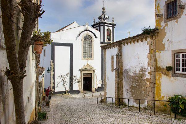 La capela Sao Martinho d'Obidos