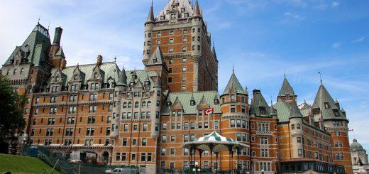 Le château de Frontenac à Québec