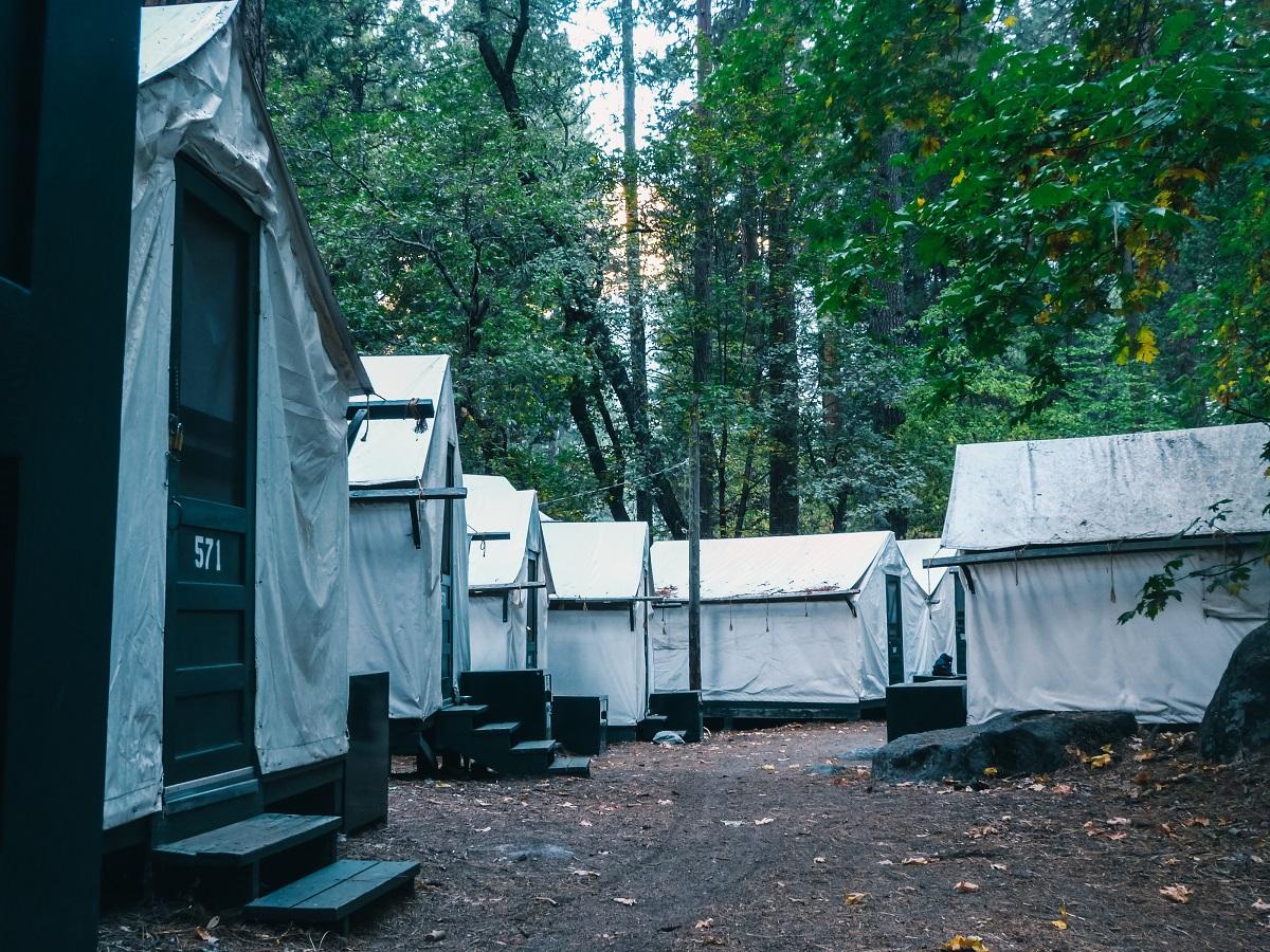 Curry Village à Yosemite