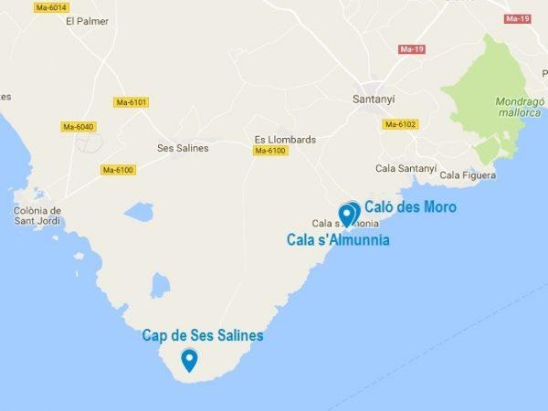 La Calo des Moro : une plage du sud de Majorque