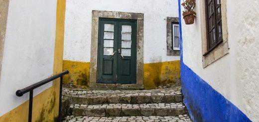 Visiter Obidos et ses ruelles pavées caractéristiques