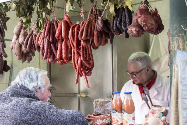 Les commerçants du marché de Bolhao