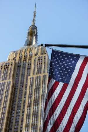 L'Empire State Building, symbole de New-York et des Etats-Unis