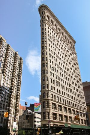 Le Flatiron building de New-York