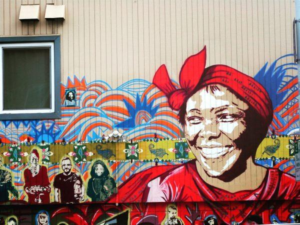 Le street art est très présent dans le quartier de Haight Ashbury à San Francisco