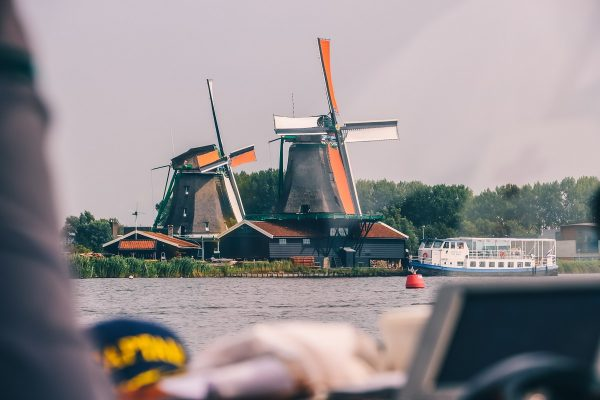 Balade en bateau à Zaanse Schans