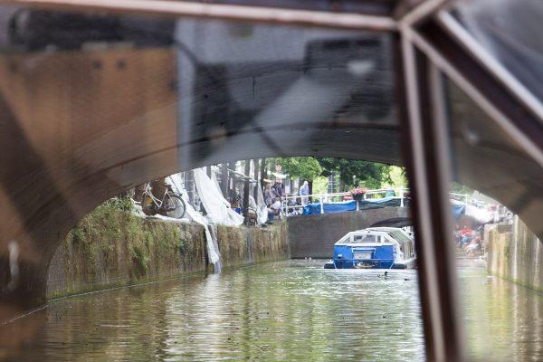 Balade en bateau sur les canaux de Delft