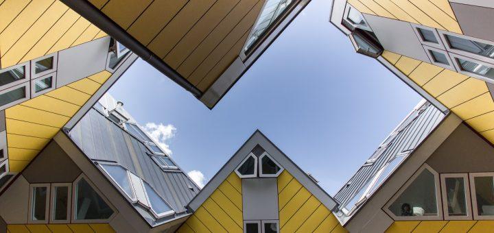 Les maisons cubiques de Rotterdam : une curiosité à découvrir