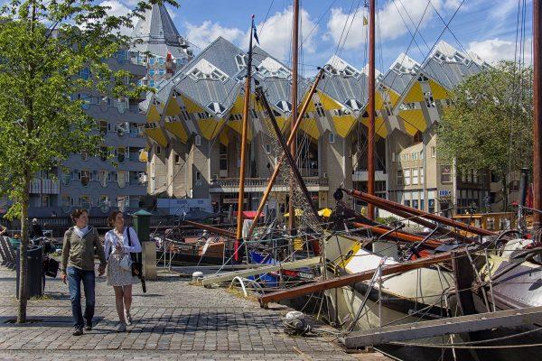 Le quartier du Oude Haven à Rotterdam