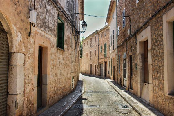 La traversée des petits villages de Majorque