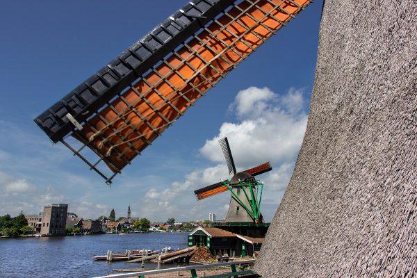 Visiter Zaanse Schans aux Pays-Bas et ses moulins traditionnels