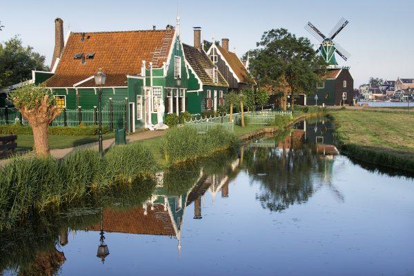 La balade dans le village de Zaanse Schans