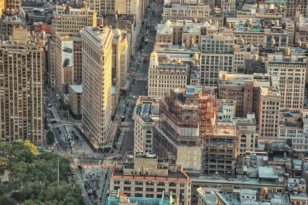 Vue sur Manhattan et le Flatiron Building