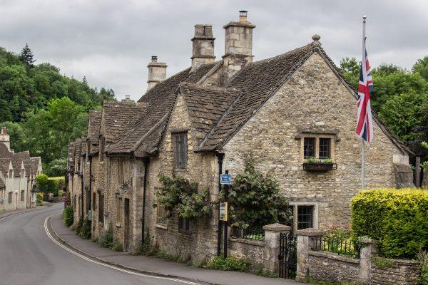 Les maisons du centre de Castle Combe