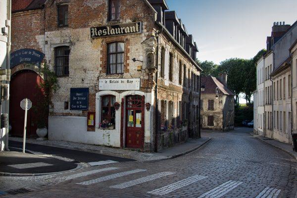 La rue Pierre Ledent à Montreuil sur Mer