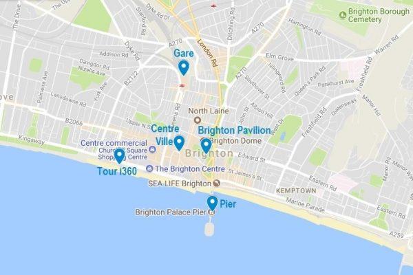 Visiter Brighton : les points d'intérêt