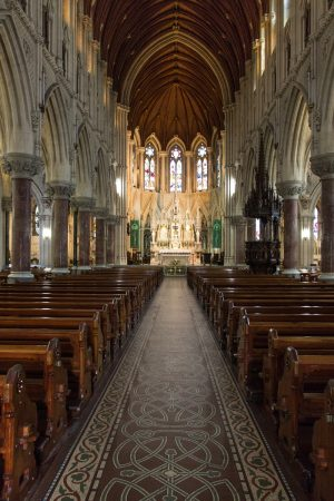 L'intérieur de la cathédrale de Cobh