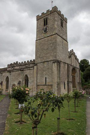 L'église de Bibury dans la région des Cotswolds