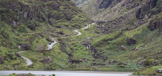 La vallée du Gap of Dunloe en Irlande