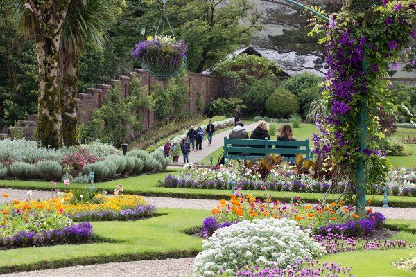 Les jardins de l'abbaye de Kylemore