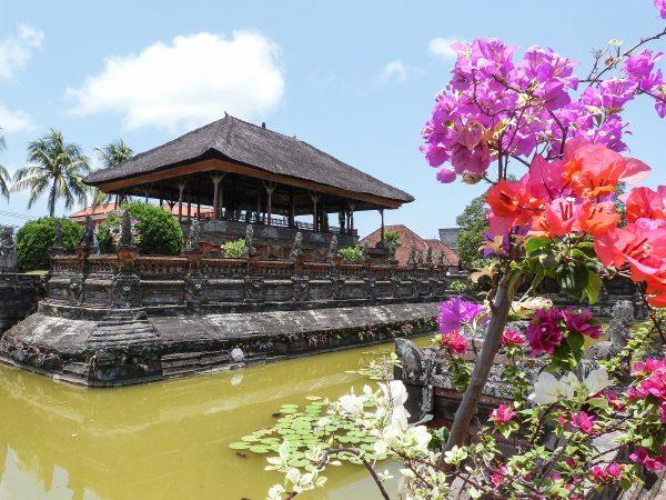 L'ancien palais de justice de Klungkung à Bali