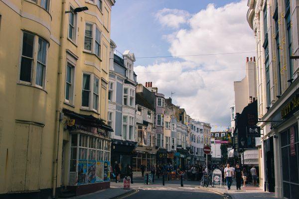 Dans les rues de Brighton
