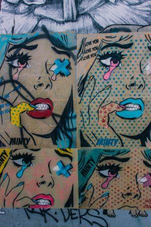 Street-art dans Brighton