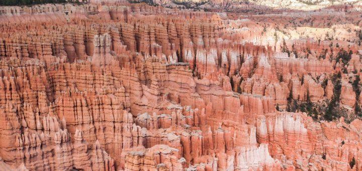Un panorama sur les hoodoos de Bryce Canyon