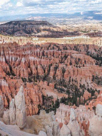 Bryce Canyon aux couleurs du soleil couchant