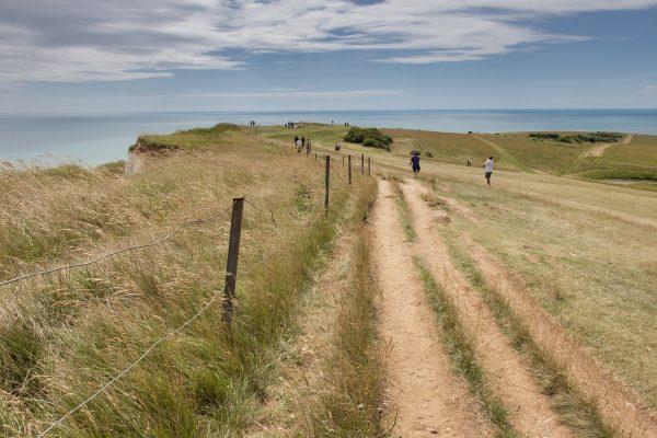 Le chemin de randonnée du Beachy Head