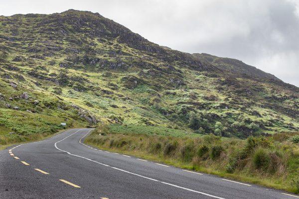 Sur la route du Ring of Kerry, dans le sud ouest de l'Irlande