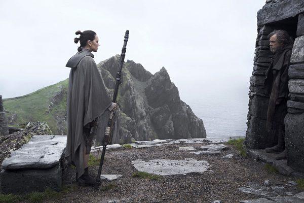 Les îles Skellig Michael dans Star Wars