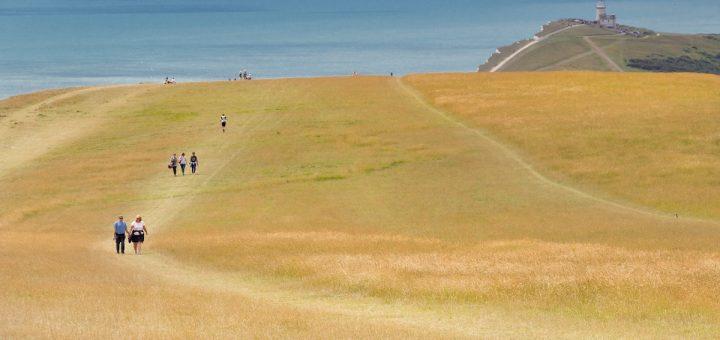Le Beachy Head : immense falaise de craie propice aux promenades