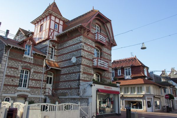 Une villa typique du Touquet, dans le centre-ville