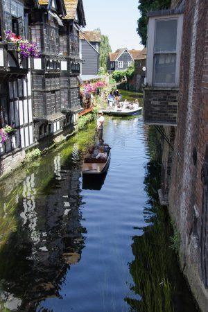 La balade sur les canaux de Canterbury