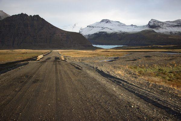 Paysage de montagnes en Islande
