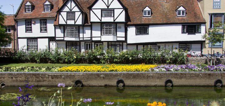 Une maison à colombage dans Canterbury