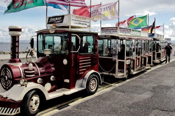 Le petit train touristique de Galway