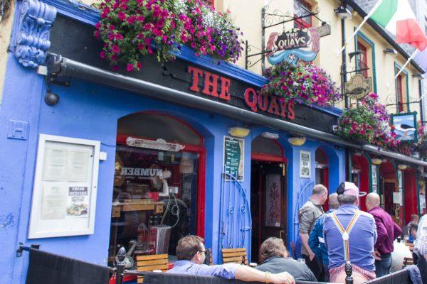 Le Quays pub à Galway
