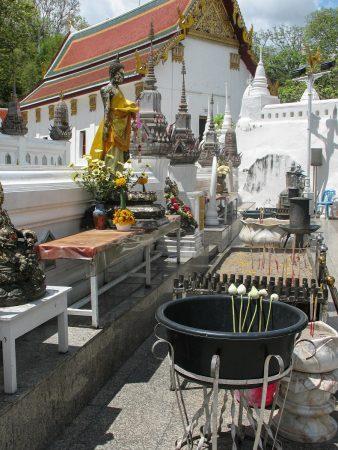 Le wat Phra Phutthabat ou temple de l'empreinte de Bouddha, dans la province de Saraburi