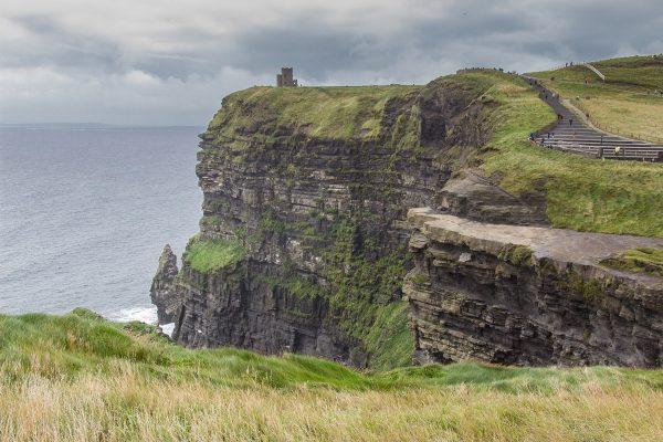 Les falaises de Moher dans l'ouest de l'Irlande